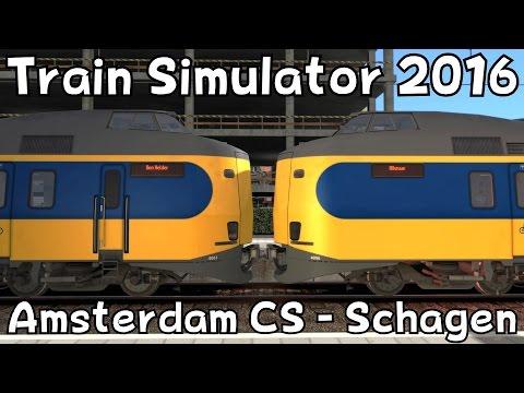 Train Simulator 2016: Amsterdam Centraal - Schagen with ChrisTrains NS ICMm