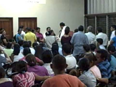 Baptism at Cuerpo de Cristo, Managua, Nicaragua