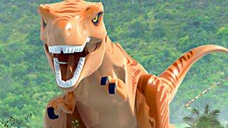LEGO Jurassic World & Jurassic Park All Cutscenes Movie