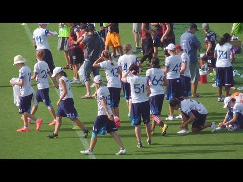 Video Thumbnail: 2012 World Ultimate Championships, Women's Pool Play: USA vs. Canada
