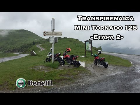 Transpirenaica con la  Benelli Mini Tornado 125 - Día 2 - [English Subtitles]