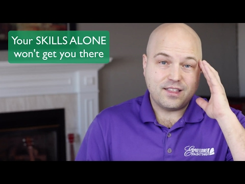 Your SKILLS ALONE won't get you there