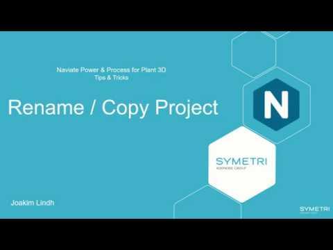 Plant 3D Naviate Rename Copy Project (eng)