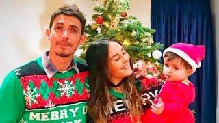 Zuria Vega comparte tiernos vídeos de la primera Navidad de su hija Lúa