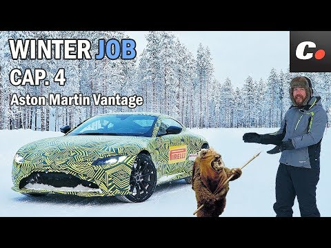 Aston Martin Vantage 2018 | Prueba / Test / Review en español | WINTER JOB Cap.4 | coches.net