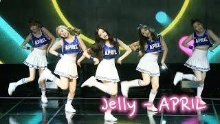 APRIL(에이프릴) Jelly(젤리) 무대 공개 (Showcase)