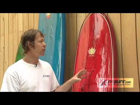 The Lotus Surfboard range from A1Surf.com