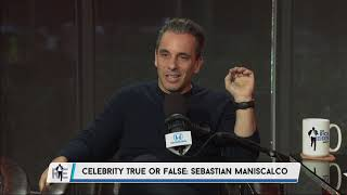 Actor Sebastian Maniscalco plays Celebrity True or False   The Rich Eisen Show   11/7/18