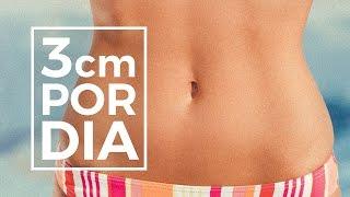 Como perder barriga e cintura: 3cm POR NOITE sem exercícios