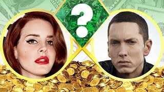 WHO'S RICHER? - Lana Del Rey or Eminem? - Net Worth Revealed! (2017)
