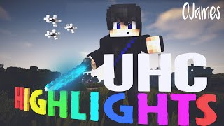 Hypixel UHC Highlights #55 - I tried editing ;-; w/ nafen,Voxo & oJames