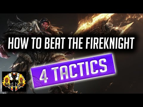 RAID: Shadow Legends | How to beat the Fire Knight Dungeon | 4 tactics to take down Mr Shieldy!