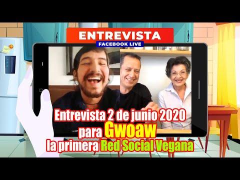 Entrevista Facebook Live Gwoaw - Cocina Vegan Fácil