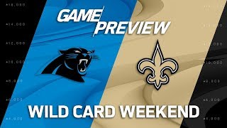 Carolina Panthers vs. New Orleans Saints | NFL Wild Card Weekend Game Preview | Move the Sticks