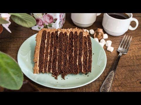 Шоколадный медовик Торт Спартак декор торта кремом шарлотт photo