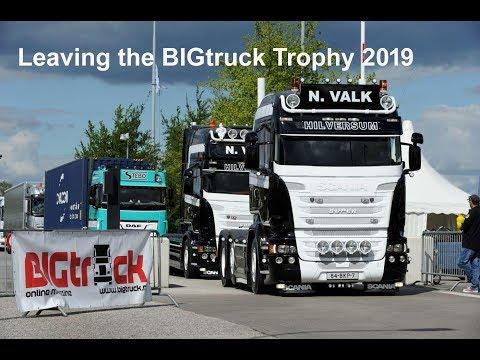 Leaving the BIGtruck Trophy 2019