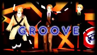 {MMDxAPH} ~ Let's Groove! AmeCanTea style ~