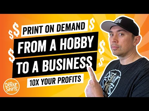 10x Your Profits. Turn Your Print On Demand Hobby to a Business. Go from $500 a month to $5000.