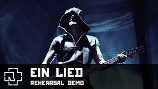 Rammstein - Ein Lied [Rehearsal DEMO] (Mutter Studio)