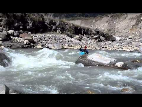 Annapurna Downside Part 3.  Madi Khola:  Best Thanksgiving Ever.