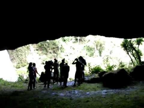 Interior Cueva Santa Emilia