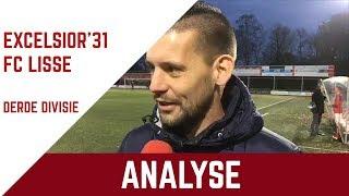 Screenshot van video Analyse Excelsior'31 - FC Lisse met Martijn Beltman