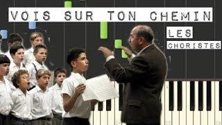 Vois Sur Ton Chemin - Les Choristes /Piano Tutorial [Synthesia]