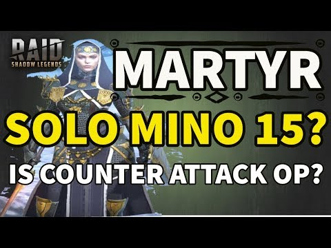 [RAID SHADOW LEGENDS] MARTYR SOLO MINO