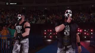 TAMA TONGA  TONGA ROA  GUERRILLAS OF DESTINY WWE 2K18