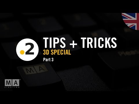 dot2 tips and tricks – special dot2 3D – No. 03