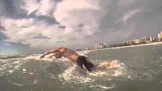Beach to Ocean Triathlon Swim Start