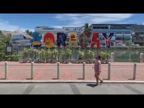 A la playa con PCR, la tímida apertura al turismo local en Filipinas