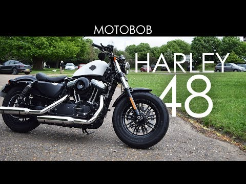 Harley Davidson 48 Test Ride & Review 2017 (Warr's, Chelsea)