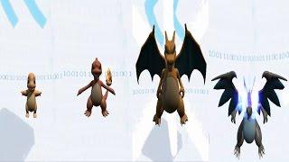 Pokemon X Digimon - Charmander Evolution (Digimon Adventure Tri)