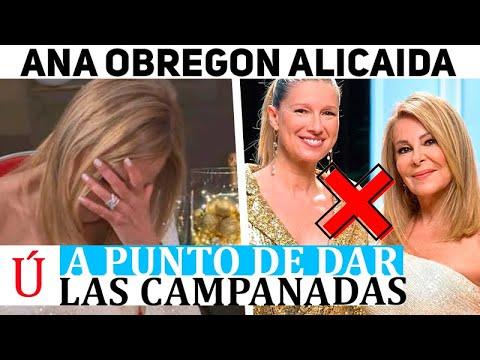 ¡Alarma total con Ana Obregón! Lo que ha sucedido antes de dar las campanadas ¡Rota por Alex!