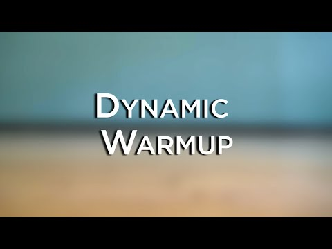 Dynamic Warmup for Athletes