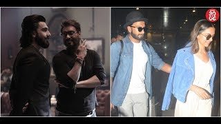 Ajay To Have A Special Cameo In 'Simmba'? | Ranveer-Deepika's Wedding Plans Revealed