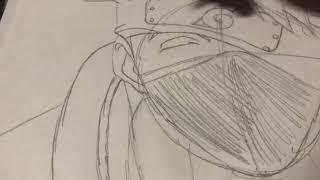My Kakashi drawing