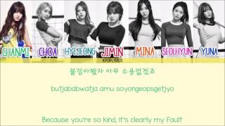 AOA - One Thing [Eng/Rom/Han] Picture + Color Coded HD