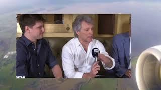 Jon Bon Jovi mentions European Tour in 2019!