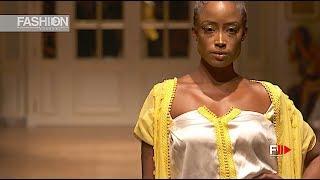 AMINA LAHBABI Spring Summer 2019 OFS RITZ Paris - Fashion Channel