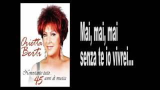 ORIETTA BERTI - SOLO TU - Lyrics & karaoke.avi