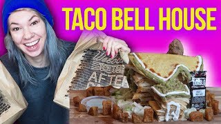 I Tried Making a Taco Bell House! | HISSYFIT