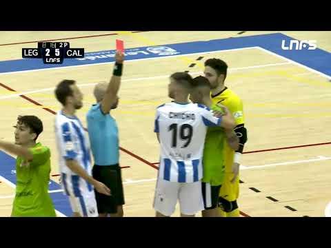 CD Leganés 5-8 Visit Calvià Hidrobal Jornada 8 Segunda División Temp 21/22