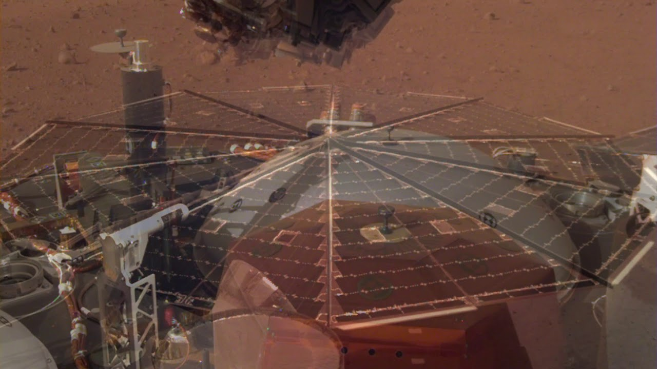 Listen To The Sound Of Real Martian Winds, Recorded By NASA's InSight Lander