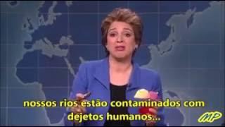 Veja a versão legendada do vídeo em que Dilma é humilhada e tratada como completa imbecil nos EUA