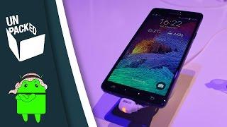نظرة سريعة على النوت 4 | Samsung GALAXY Note 4 First look