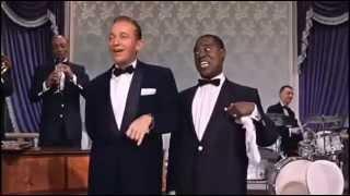 Bing Crosby e Louis Armstrong no filme Alta Sociedade
