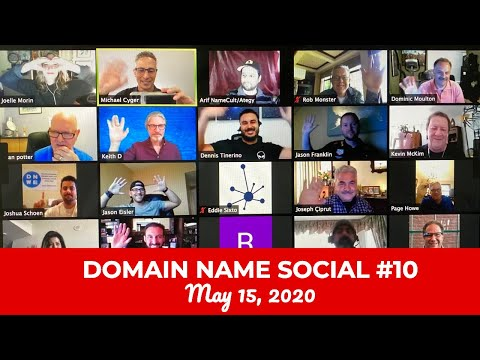 Michael Cyger's Domain Name Quarantine Social #10 (May 15, 2020)