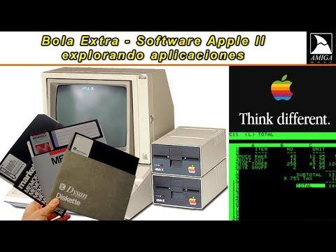 Bola Extra - Explorando aplicaciones de Apple II